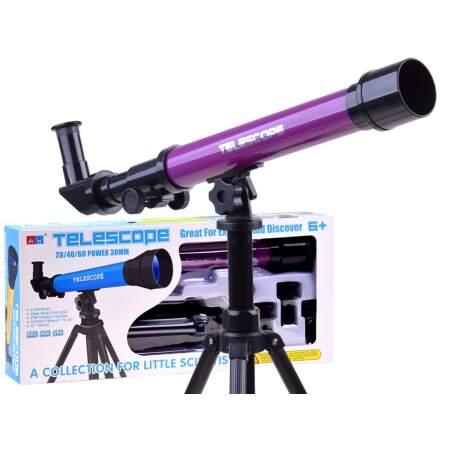 Vaikiškas teleskopas, violetinis