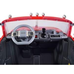 """Vaikiškas elektromobilis """"Mack Trucks"""", raudonas"""