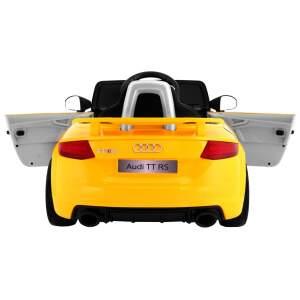 """Vaikiškas elektromobilis """"AUDI Quattro TT RS"""" Geltonas"""