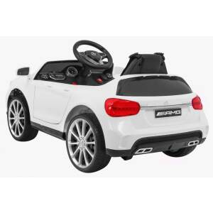 "Vaikiškas elektromobilis ""Mercedes AMG GLA-45"", baltas"