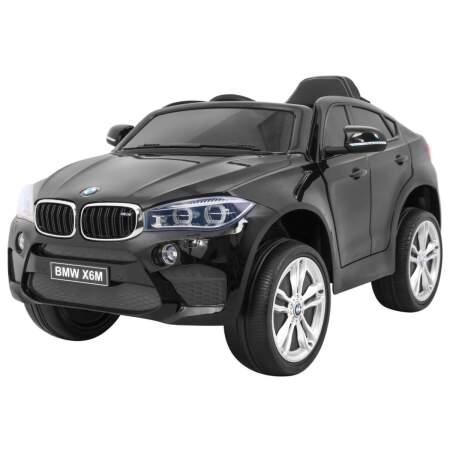 """Vaikiškas elektromobilis """"BMW X6M"""" Juodas"""